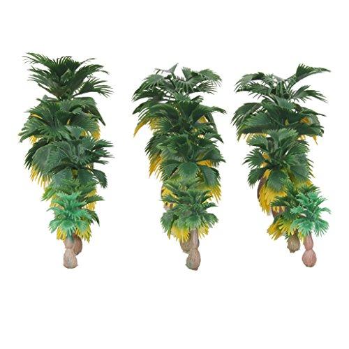 Miniature Palm Trees Fairy Garden Landscape Bonsai Decor