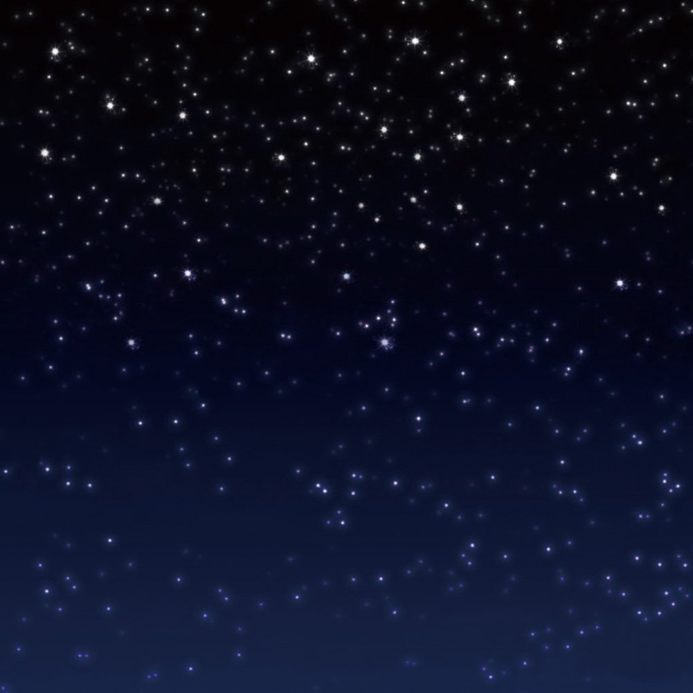 GladsBuy Starry Sky 10' x 10' Computer Printed Photography Backdrop Night Theme Background S-2017