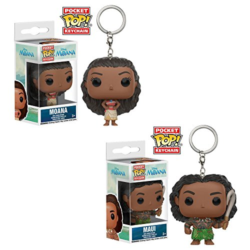 Funko Disney Princess Moana: POP! Disney Collectors Set; Princess Moana and Pua, Maui