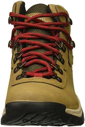 Columbia Newton Ridge Plus Bottes de randonnée imperméables pour femme, Marron (Delta/velours rouge.), 40 EU