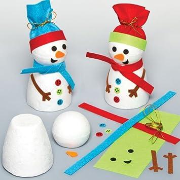 100pcs nasi in plastica pupazzo di neve per l/'Artigianato Creazione di finisce di ricamare sullo fai da te doll toy