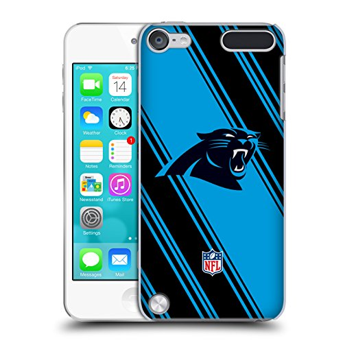 Official NFL Stripes 2017/18 Carolina Panthers Hard Back Case for iPod Touch 5th Gen / 6th Gen