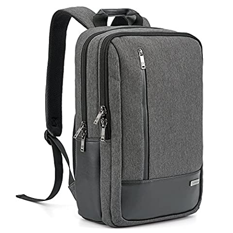 Laptop Backpack Evecase 17.3 inch Modern Business School Laptop Backpack with Accessory Pockets For Apple Macbook Air / Pro, Samsung Chromebook, HP, Dell, Sony, Toshiba (Msi Ghost Gs60 Pro 4k)