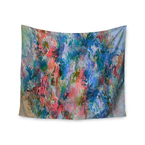 Kess InHouse EBI Emporium The Nexus 2, Blue Coral Painting, 68
