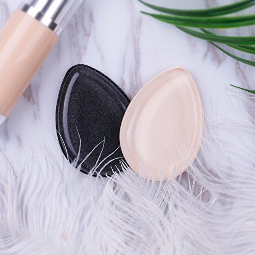 Silicone Makeup Sponge 2Pcs, Foundation Beauty Makeup Blender, DUcare Dual Use Reusable Makeup Applicator Foundation Sponge Cosmetic Blender Silisponges Flawless Applicators for Cream Powder Blusher