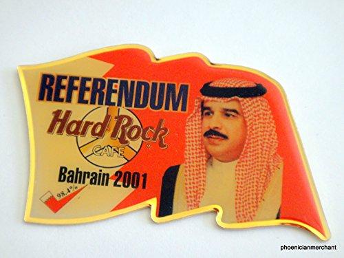 (Hard Rock Cafe Bahrain Referendum 2001 Pin )