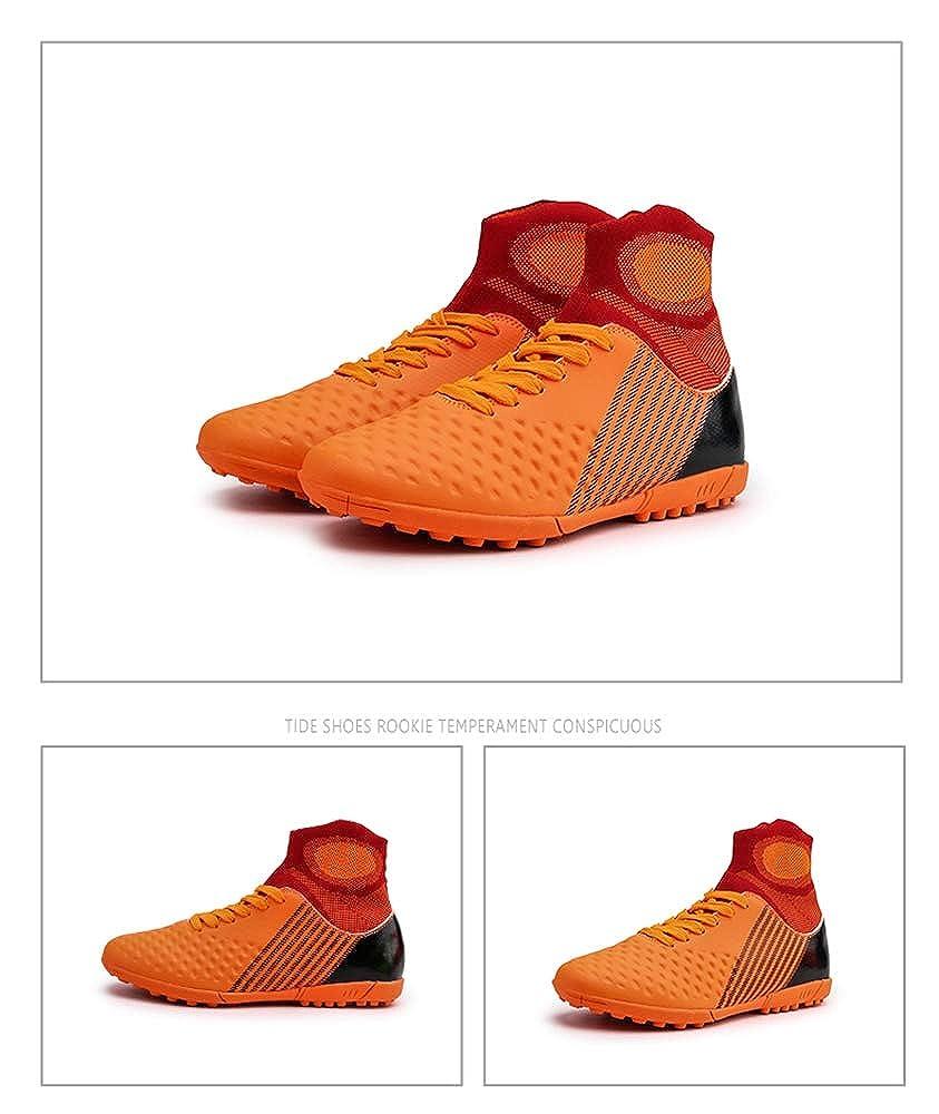Entraînement Football Chaussures Football Chaussures Hommes baskets en Plein Air Court Nail Haut Col Non-Slip Chuteira Futebol Adulte chaussures