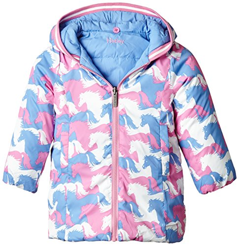 109ddf4e0637 Hatley Girls  Reversible Winter Puffer - Import It All
