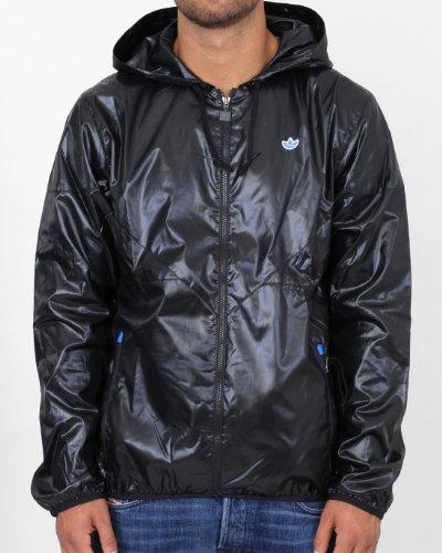Adidas Originals Trefoil AC Windbreaker schwarz Windjacke S