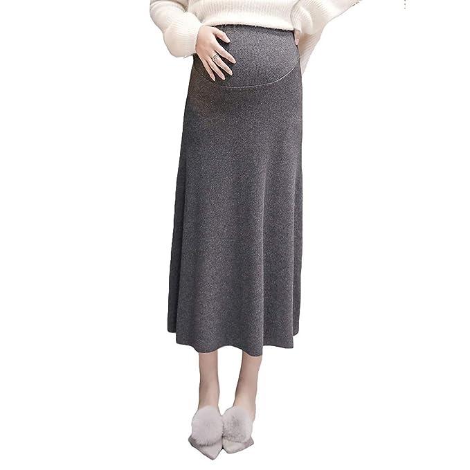 MNLXL Faldas para Mujeres Embarazadas Vestido De Maternidad De ...