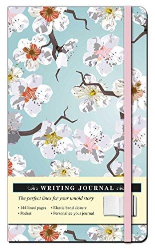 Floral White Blossom Journal (Thunder Bay Journals)