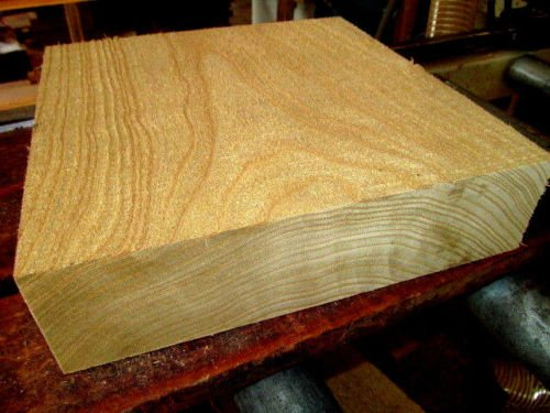 Catalpa Bowl Blanks Lathe Wood Block Lumber Carve Turning 9 X 9 X 3''