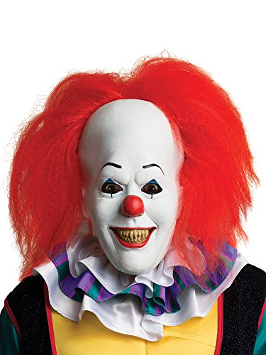 Happy Clown Masks - Rubie's Men's It Pennywise Adult Mask,