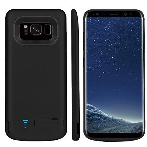 ETbotu Portable Power Bank 5000mAh Rechargeable Extended Battery Charging Case External Battery Charger Case for Samsung Galaxy S8