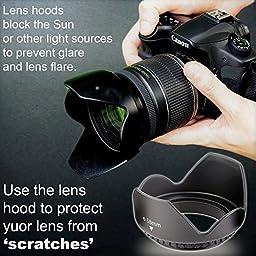 Professional 55MM Giant Accessory Bundle Kit For Nikon D3400 D3300 AF-P & DSLR Cameras , 25 Accessories for Nikon