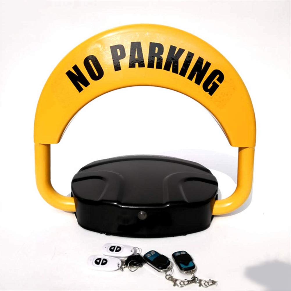Parking Barrier Remote Control Bluetooth Sensor APP Parking Blocker and Space Saver Made of Metal, 450x400x80mm