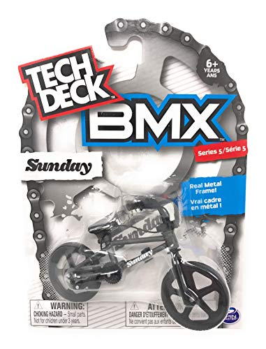 Nozlen Toys Bundle: Tech Deck Series 5 BMX Bikes Set of 4 - WeThePeople and Sunday with Bonus Bag by Nozlen Toys (Image #1)