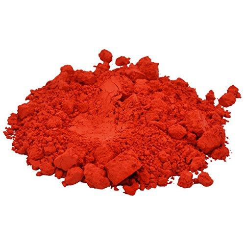 Premium 1 Oz TRUE RED Mica Pigment Powder Liquid Gold Soap Cosmetic Candles Nail Art Craft Polish Eye Shadows Lip Products Makeup