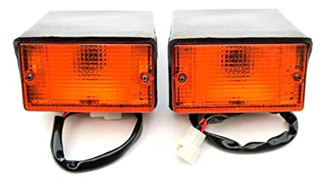 Amazon com: Front Turn Signal LAMP for Mahindra Tractor|Off