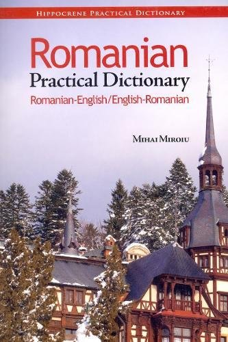 Romanian English English Romanian Practical Dictionary Miroiu product image
