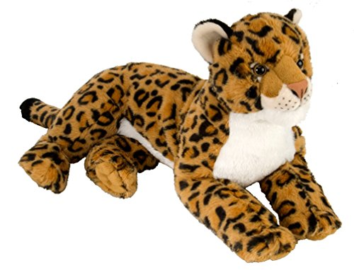 Wild Republic Leopard Plush, Stuffed Animal, Plush Toy, Kids Gifts, Zoo Toy, 18""