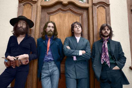 The Beatles photo session at Tittenhurst 13 X 19