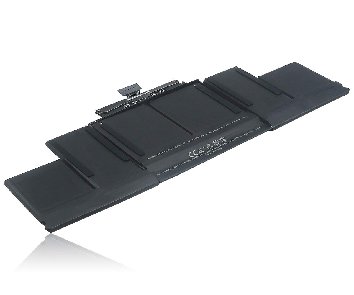 HUSAN New A1494 Laptop Battery Compatible for MacBook Pro 15'' A1398 Retina (Late 2013 & Mid 2014) ME293 ME294 by HUSAN (Image #4)