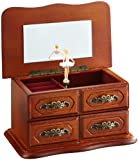 Musicbox Kingdom Little Cabinet Made of Wood Decorative Box
