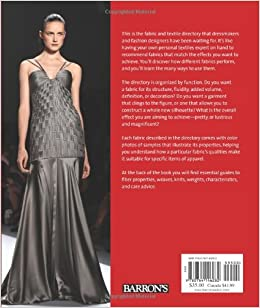 The Fashion Designer S Textile Directory A Guide To