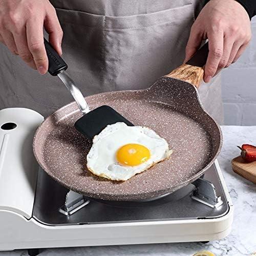 NBVCX Ustensiles de Cuisine Poêle antiadhésive 22cm Poêle à Frire antiadhésive Layer-Cake Crêpe Crêpe Maker Plat Pan Griddle Petit déjeuner Omelette Casseroles