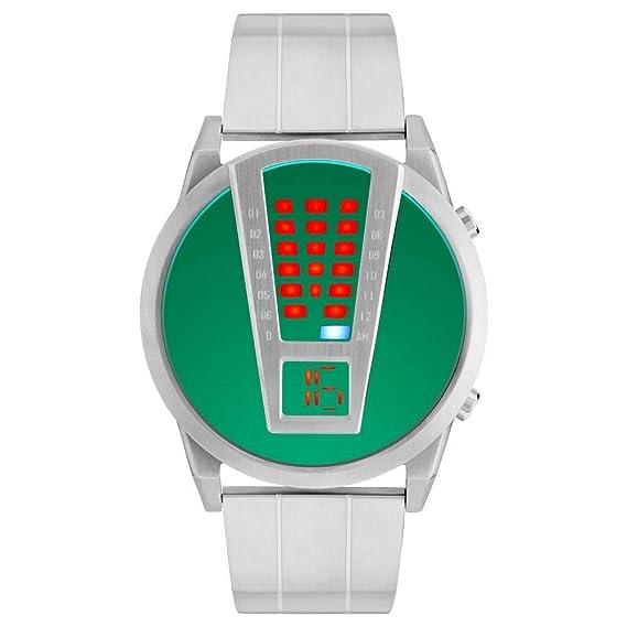 Storm London RAZAR Lazer Green 47407/LG Reloj LED para Hombres: Amazon.es: Relojes