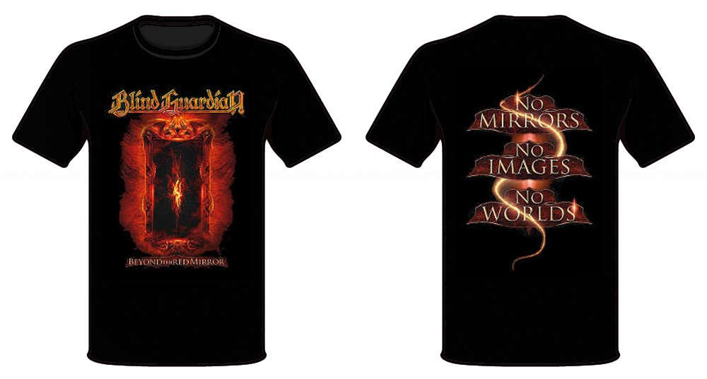 T-Shirt M Beyond the red mirror BLIND GUARDIAN