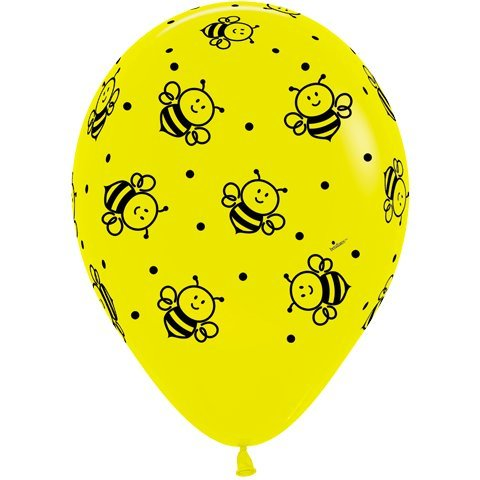 (Bumble Bees Around Latex Balloons Count of 25 Party Decorations by)