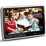 NOAUKA 10.1'' Ultra Thin Portable Digital TFT LCD HD Headrest DVD Player Car Multimedia Wide Screen Display DVD Player Headrest Monitor with HDMI Port and Remote Control