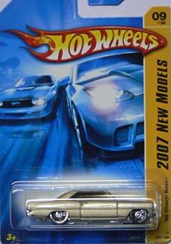 Mattel Hot Wheels 2007 New Models 1:64 Scale Gold Slammed 1966 Chevy Nova Die Cast Car #009 0