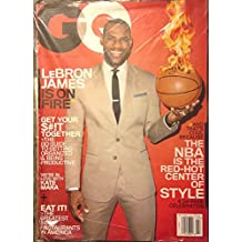 GQ March 2014 LeBron James is on Fire