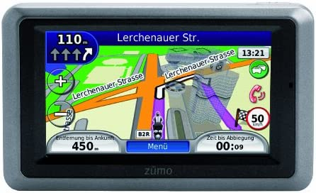 Garmin Zumo 660 Europa Wasserdichtes Motorrad Navigationssystem Mit Fahrspurassistent 3d Kreuzungsansicht Und Bluetooth