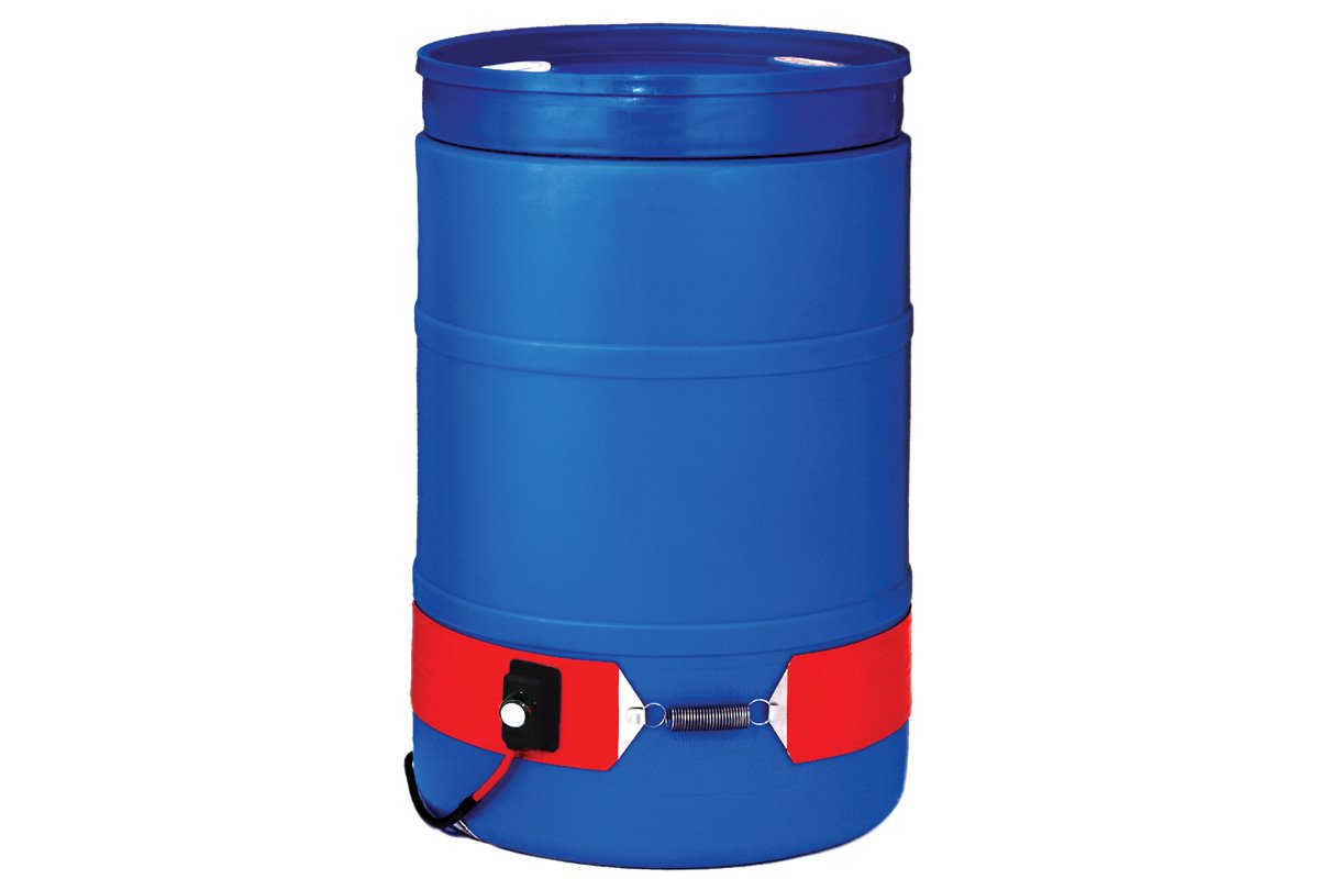 BriskHeat DHCH15A Extra Heavy-Duty Drum/Pail Heaters (DHCH/DPCH), Silicone Rubber
