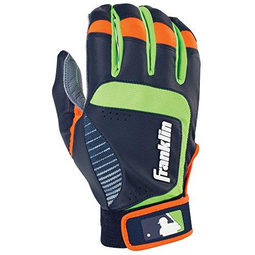 Franklin Sports Youth MLB Shok-Sorb Neo Batting Gloves, Yout