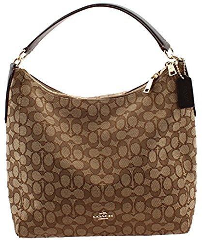 Coach Outline Signature Celeste Hobo Shoulder Crossbody Bag Purse Handbag price tips cheap