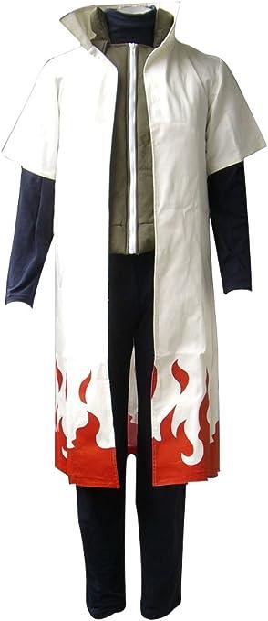 Mtxc Hombre Naruto Cosplay Disfraz Yondaime Hokage Namikaze Minato ...