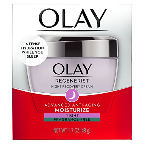 51rFwSYplTL - Night Cream by Olay Regenerist Night Recovery Anti-Aging Face Moisturizer 1.7 oz, 2 Month Supply