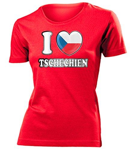 Love-All-My-Shirts - Camisa deportiva - para mujer Rojo