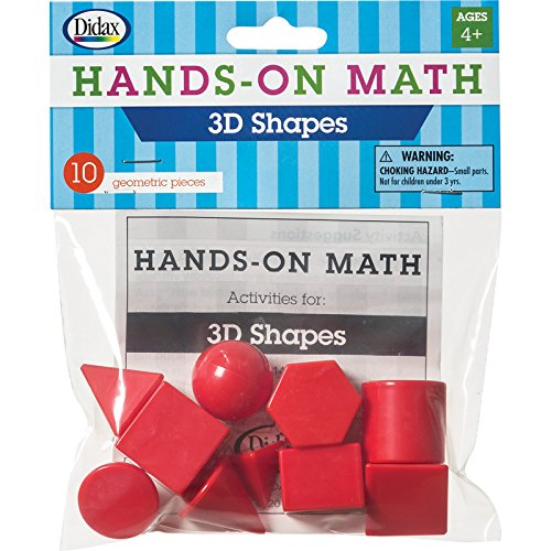 Didax Educational Resources Hands on Math 3D Shapes - Buy