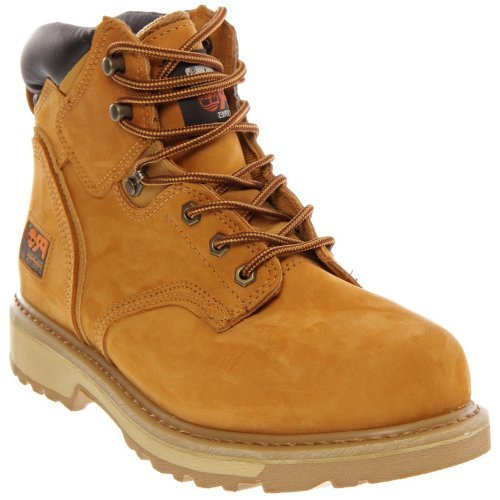 Timberland Men's PRO Pit Boss Work Boot Steel Toe Wheat 12 EE 12 EE US by Timberland PRO