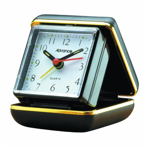 Geneva Quartz Travel Alarm Clock 3123AT