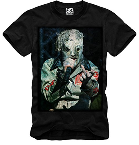 E1SYNDICATE MENS T-SHIRT COREY TAYLOR MIDDLE FINGER CONCERT OPEN AIR BLACK S/M/L/XL (Concert Air Open)