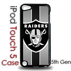 IPod 5 Touch Black Plastic Case - Raiders Football Raider Nation