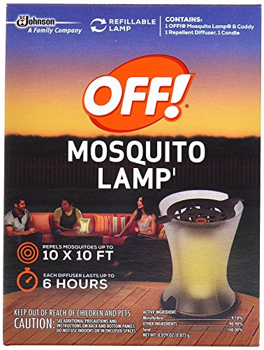 Mosquito Lamp Refill - Off! Mosquito Lamp (2 Pack)