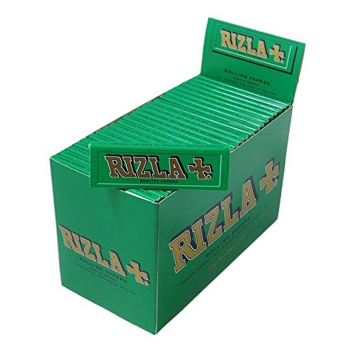 Rizla Green Cigarette Rolling Papers 100 Booklets by Country